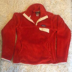 Red Patagonia Fleece